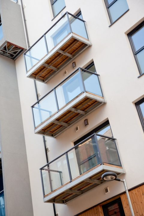 Projecting Balconies Sapphire Balustrades