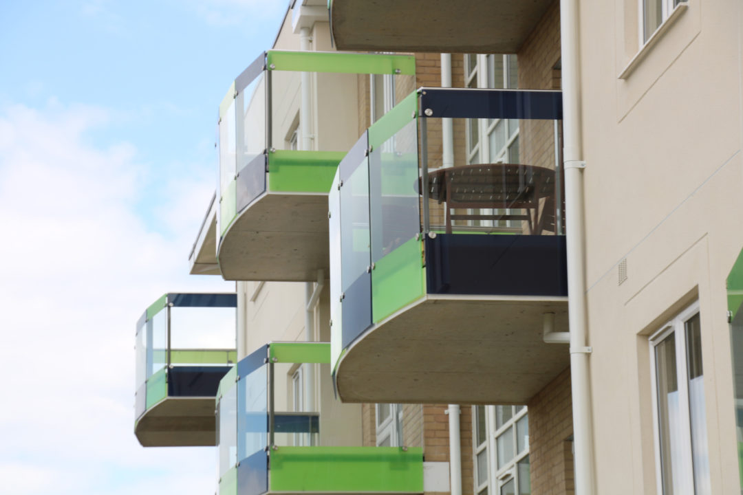 Glazed balconies