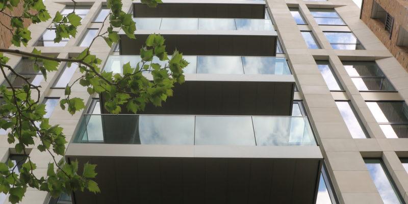 Positive Drainage of balcony