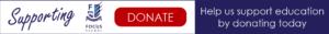 Focus charity sponsored walk donation button