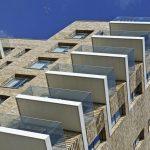 balcony balustrade design creates a simple open feel