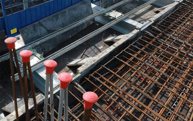 Cast-in Formwork with Sapphire balcony templates