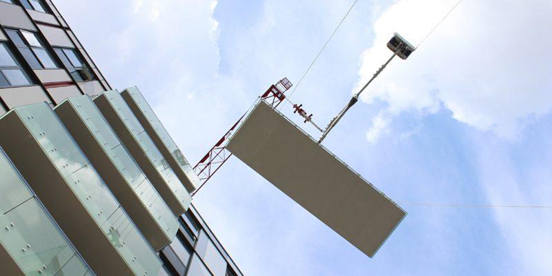 Sapphire counter balance balcony lifter