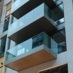 Positively Drained balconies with hidden RWP