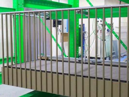 Sapphire R&D balcony test rig
