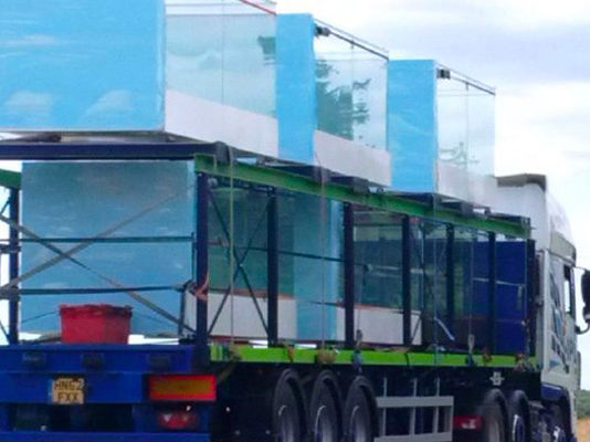 Sapphire double stack balcony transport