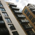 Mix of balcony types at Suttons Wharf, London