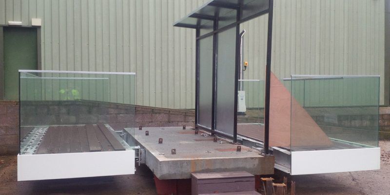 Sapphire Balcony installer training rig