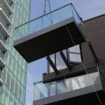 Glide-On Cassette balcony install